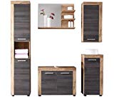 trendteam smart living Badezimmer 5-teilige Set Kombination Cancun Boo...